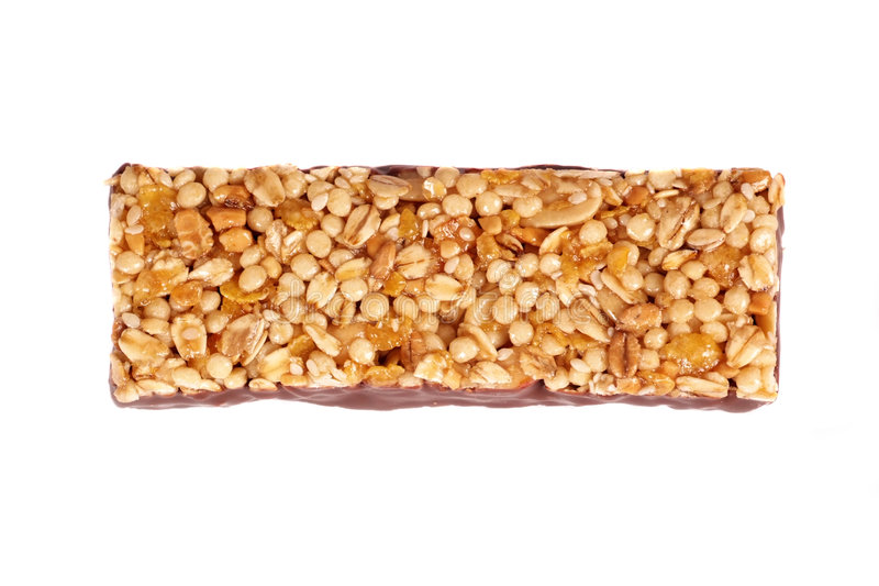 Granola bar royalty free stock images