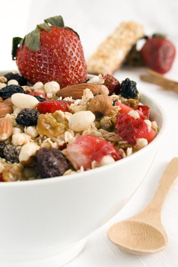 Granola bowl royalty free stock image