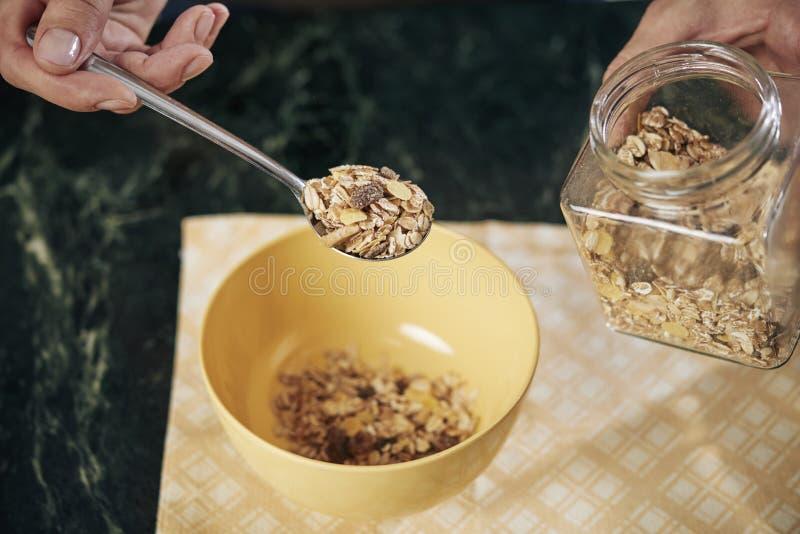 Granola délicieuse photos libres de droits