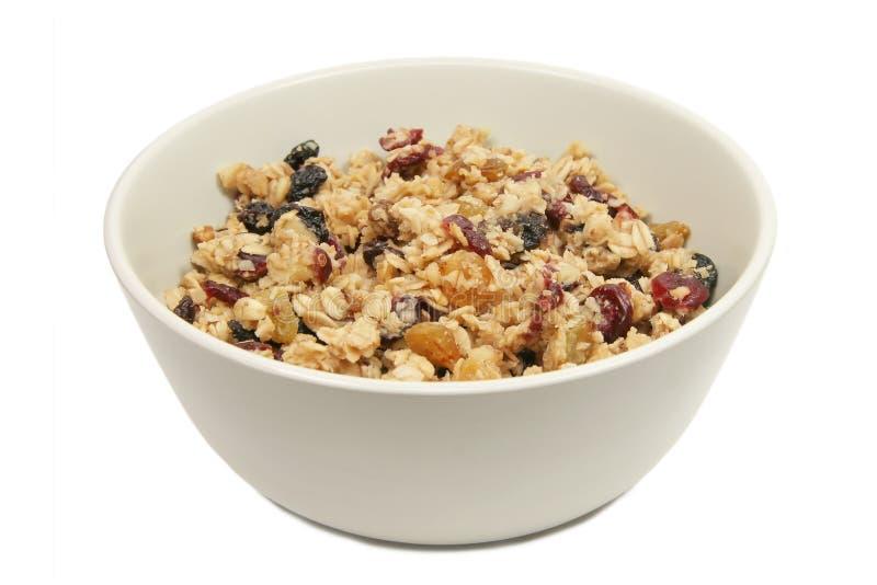 granola odizolowane zdjęcie royalty free