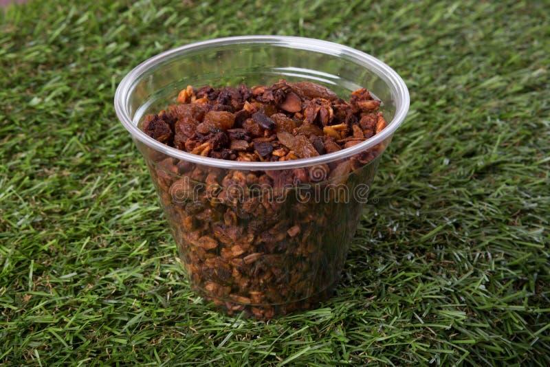 Granola ou café da manhã da mistura do musli foto de stock royalty free