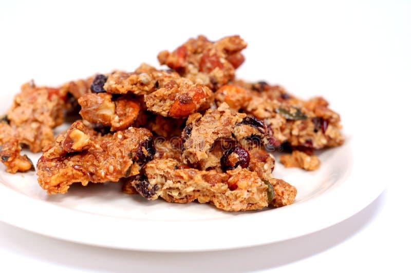 Granola Snack Royalty Free Stock Photo