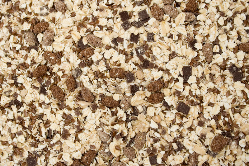 Granola Texture royalty free stock photography