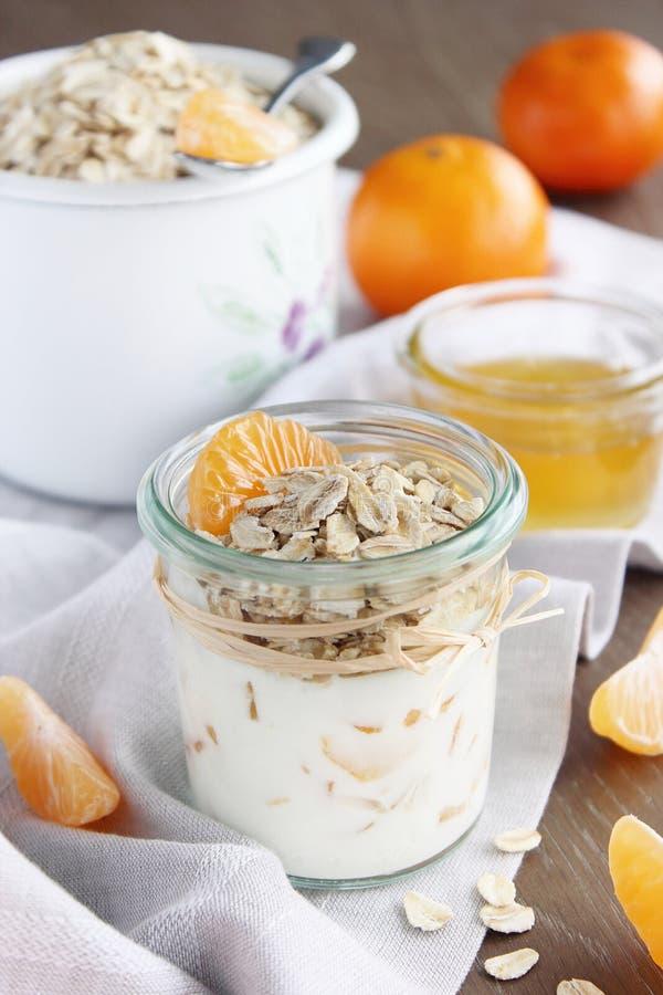 Granola z jogurtem zdjęcie royalty free