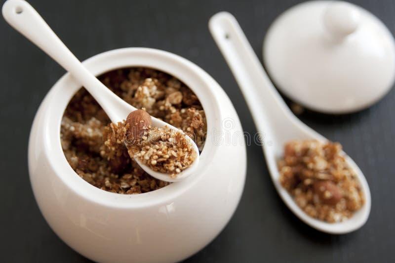 Granola z quinoa obraz stock