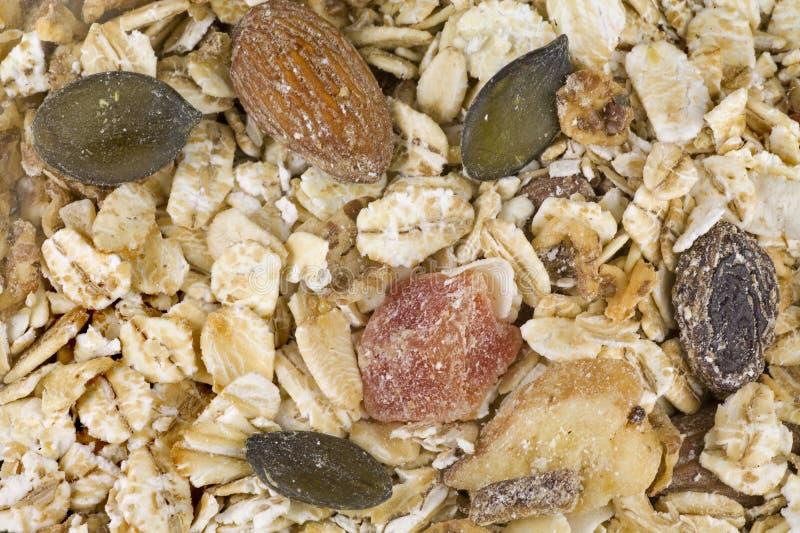 granola zdrowy obrazy stock