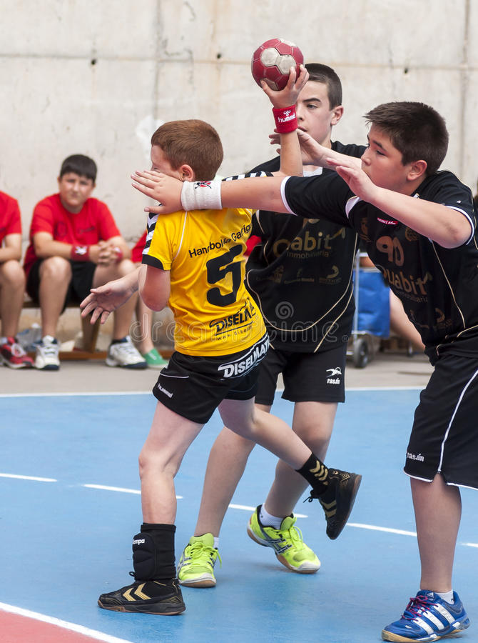 Download Granollers CUP 2013. Player Shooting The Ball Editorial Image - Image: 31944795