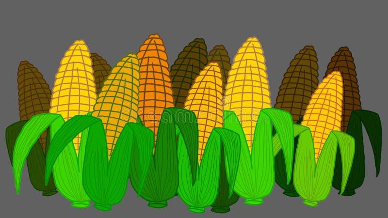 granos ilustración del vector