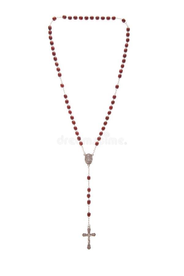 Granos del rosario imagenes de archivo