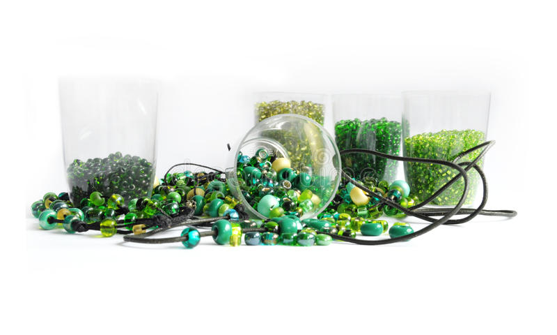 Granos verdes fotografía de archivo