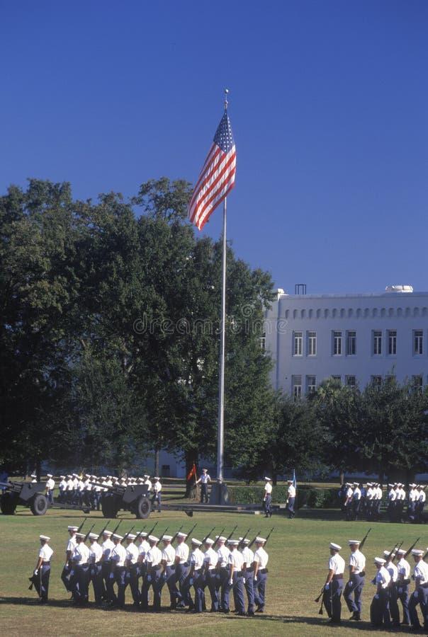 Granskning av Cadets royaltyfri fotografi