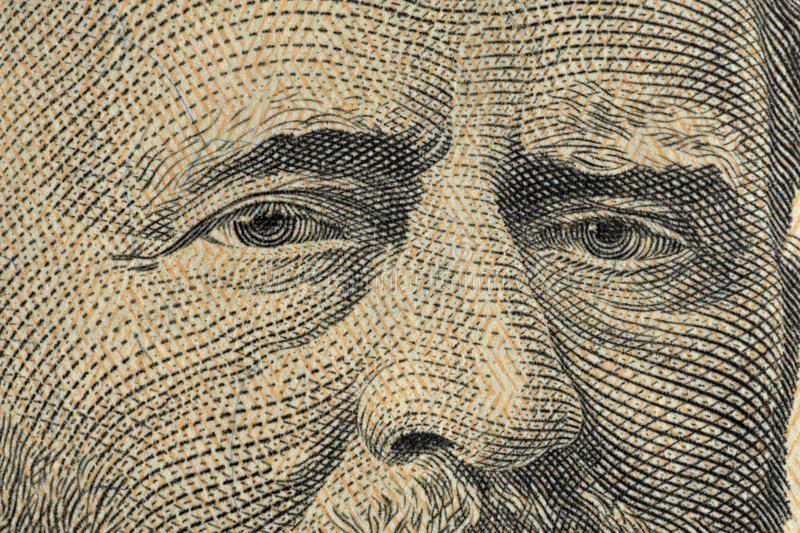 Grant Fifty Dollars Stock Images