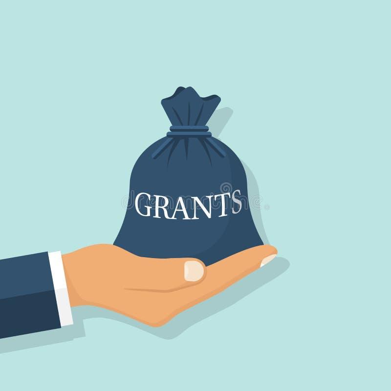 Grant-Finanzierung, Geschäftskonzept stock abbildung