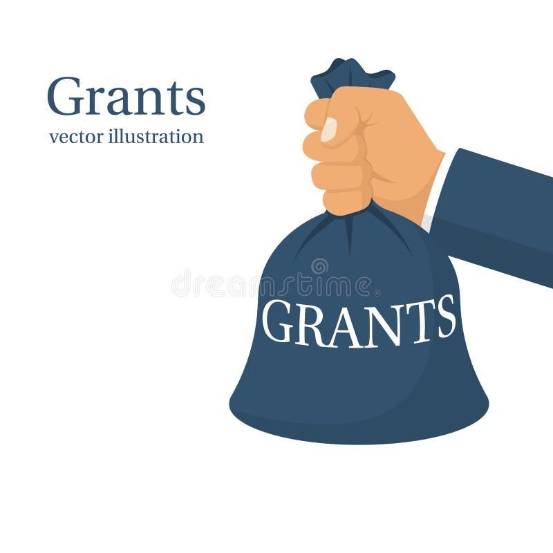 Grant-Finanzierung, Geschäftskonzept lizenzfreie abbildung