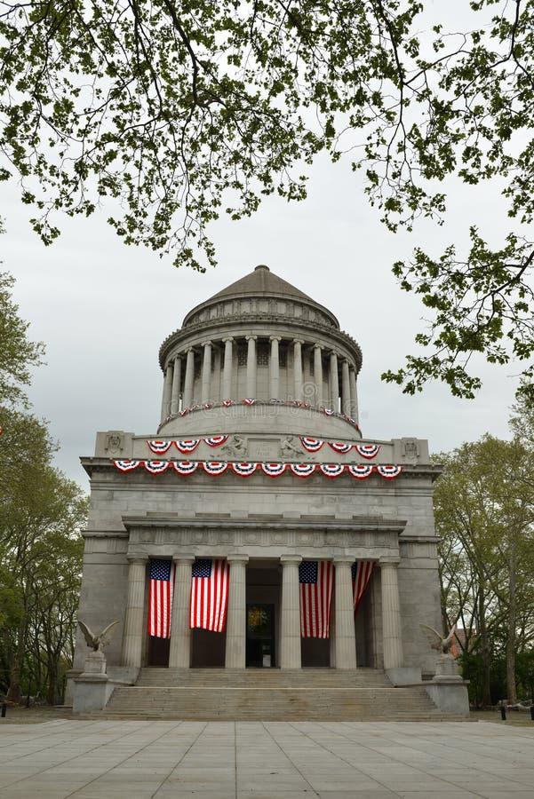 """Grant grobowiec, znać jako Ogólny Grant Krajowy pomnik, definitywny miejsce spoczynku Ulysses S Użycza 1822†""""1885, 18th prezyde zdjęcie royalty free"""