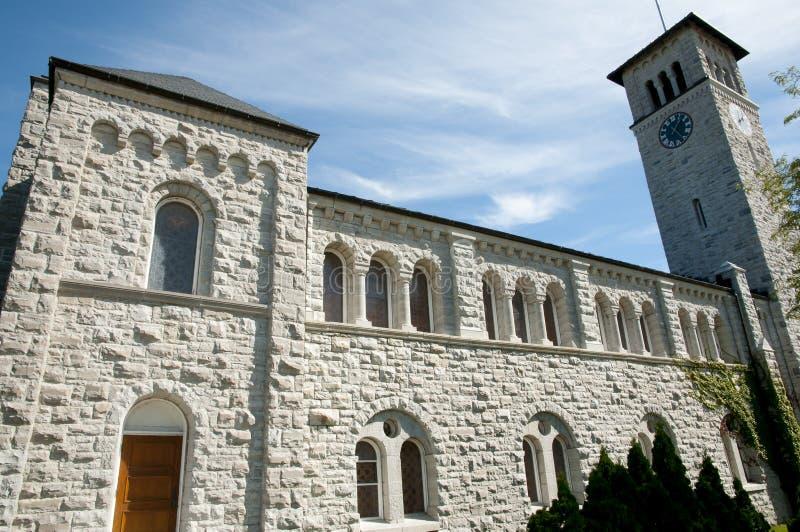 Grant Hall Building en la universidad del ` s de la reina - Kingston - Canadá foto de archivo