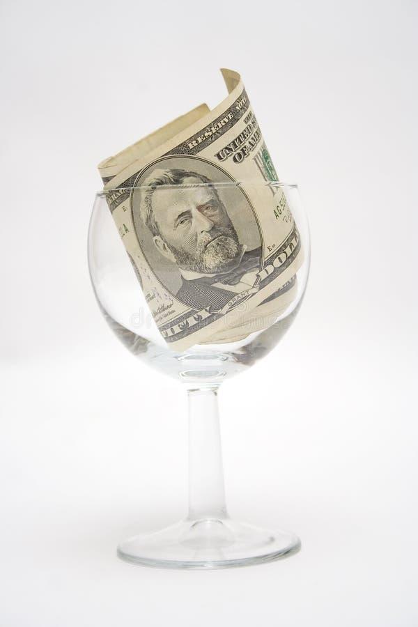 Grant im Glas lizenzfreies stockfoto