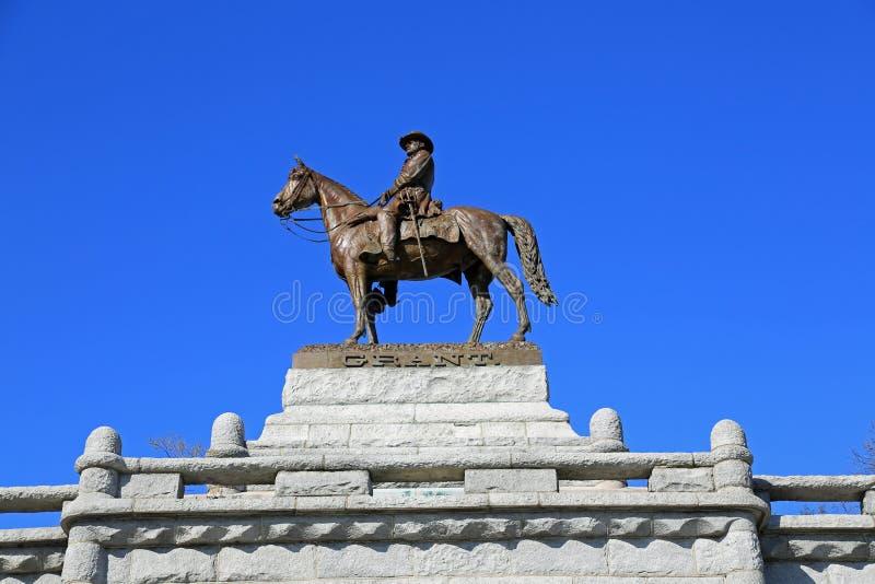 Download Grant Memorial stock photo. Image of memorial, horse - 24266960