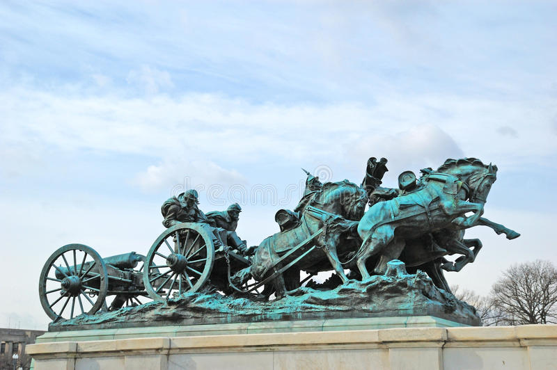 Download Grant Memorial editorial stock photo. Image of statue - 27342818
