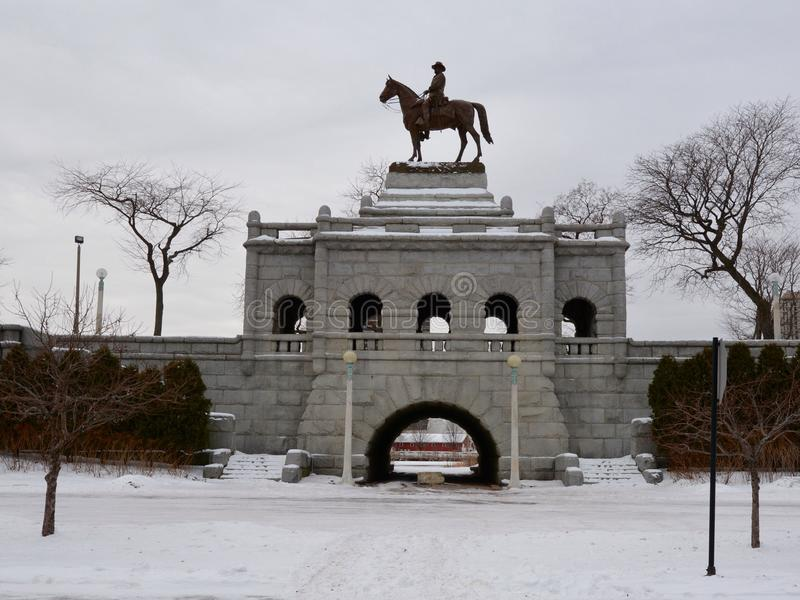 Grant Memorial fotografia de stock