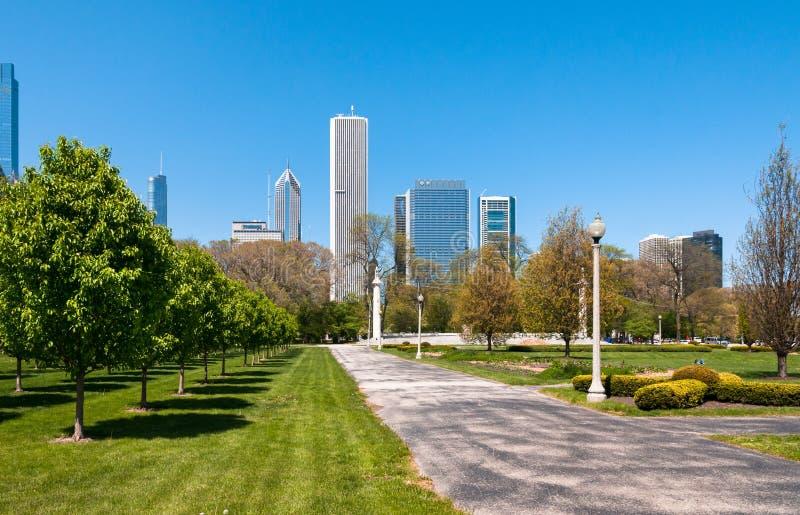 Grant Park, Chicago stock photo