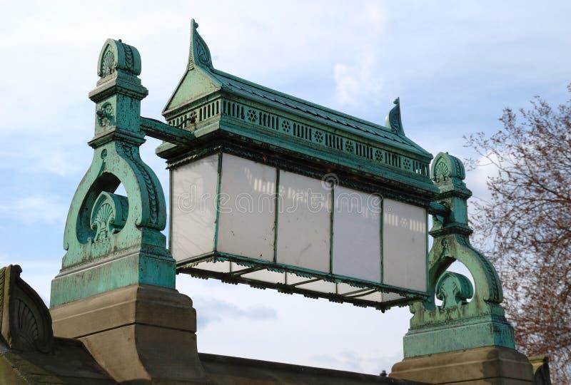 Grant Pomnik obrazy stock