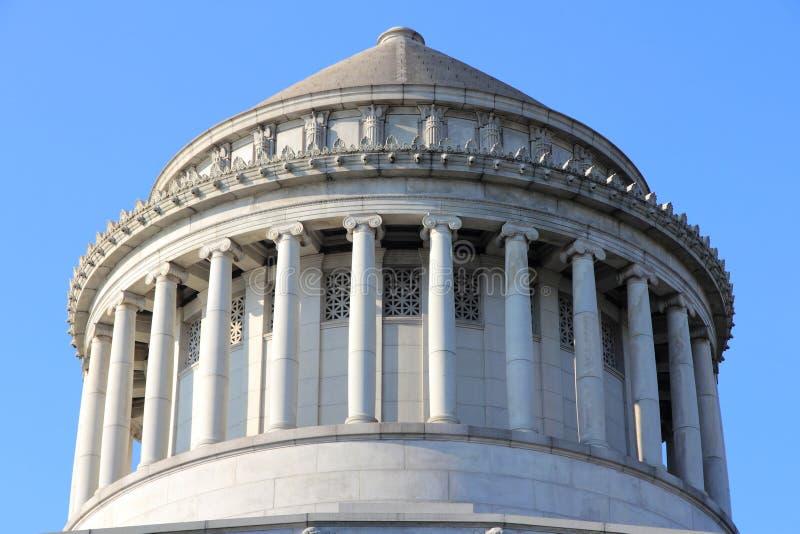 Grant pomnik zdjęcia royalty free