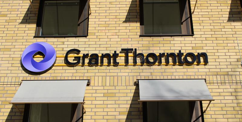 Grant Thornton fotografering för bildbyråer