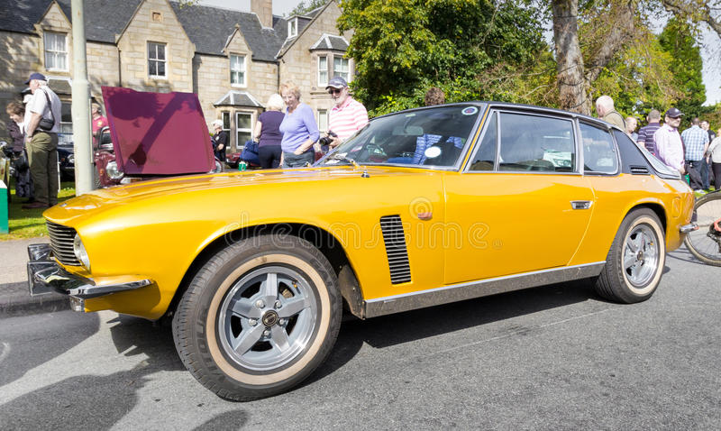 Jensen Interceptor royalty free stock images