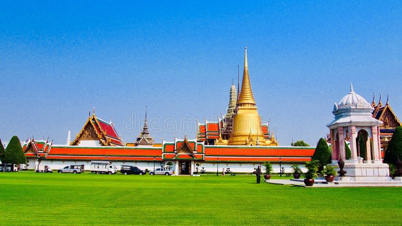 Grantpalace de Tailândia imagens de stock