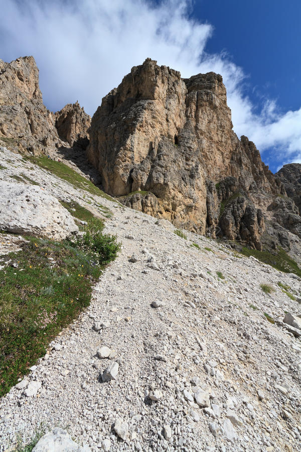 Granu Cir - Dolomiti zdjęcia stock