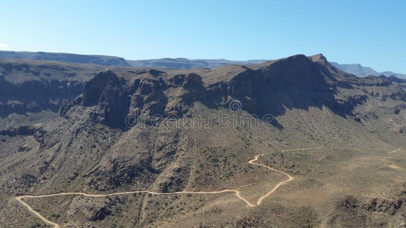 Granu jar Canarias obrazy royalty free