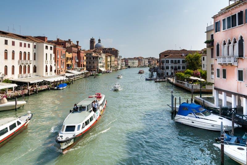 Granu kanał w Wenecja zdjęcie royalty free