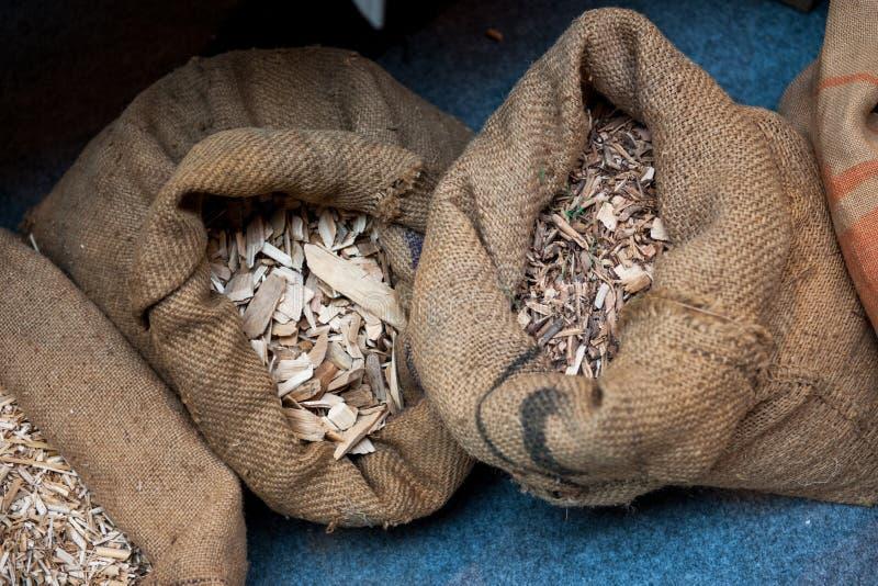 Granula o material preliminar - madeira fotos de stock royalty free