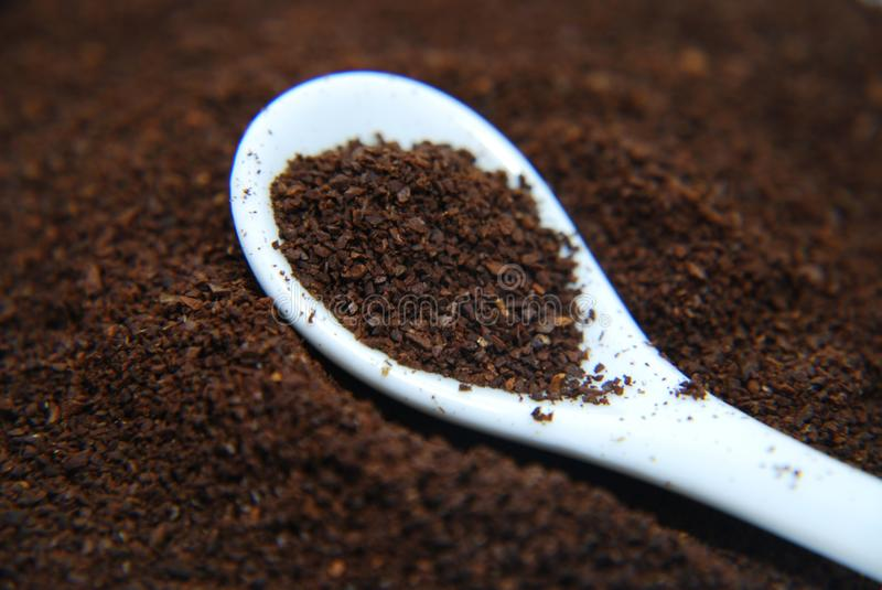 Download Granules Of Instant Coffee In The Spoon Stock Photo - Image: 17566384