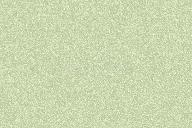 Granulierte Holzkohlenmuster der Gelbgrünzusammenfassung der weisen Farbe lizenzfreie abbildung