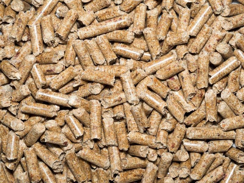 granulki drewniane zdjęcie stock