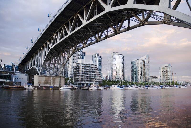 Granville Brücke stockbild