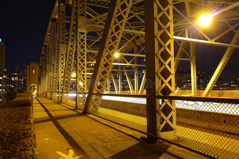 Granville Bridge foto de archivo libre de regalías