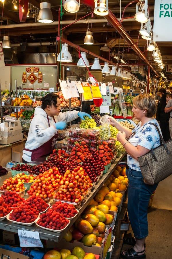 Granville Island Public Market in Vancouver, Canada