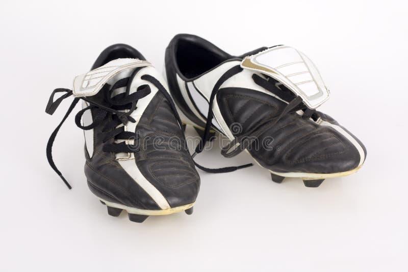 Grapas del fútbol fotografía de archivo libre de regalías