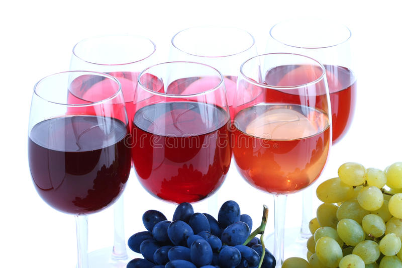 Download Grape cluster and wine stock image. Image of white, fresh - 12384303