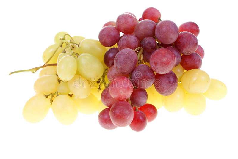 Grape clusters royalty free stock image