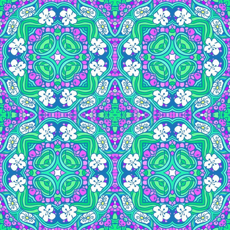 Download Grape Flower Mandala Pattern Stock Illustration - Image: 50368487