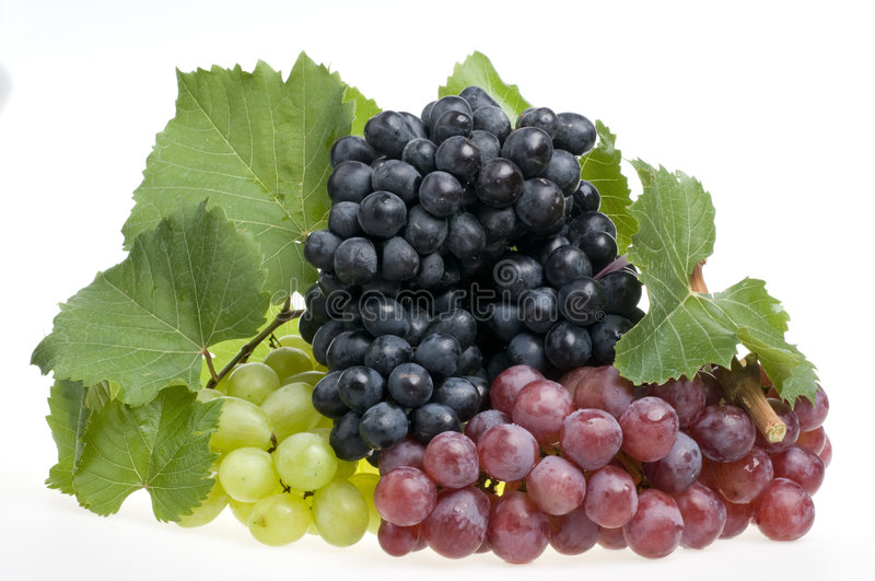 Download Grape Food Over White Stock Images - Image: 6537854