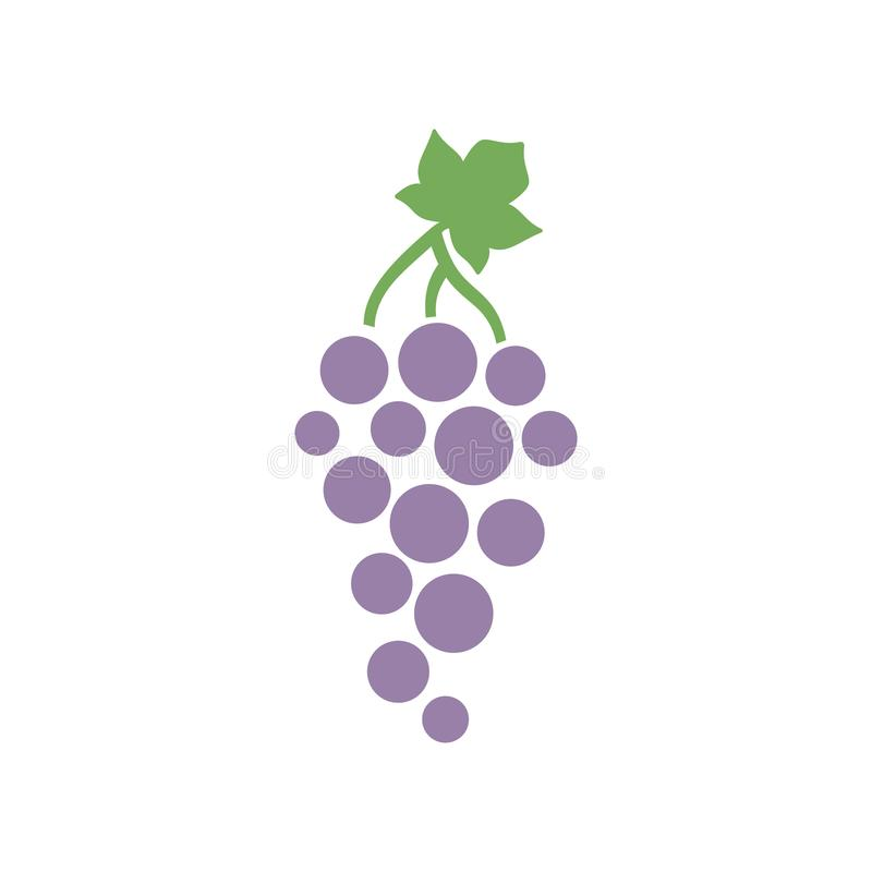 grape icon simple design grape icon clip art stock vector rh dreamstime com grace clipart grape clip art free