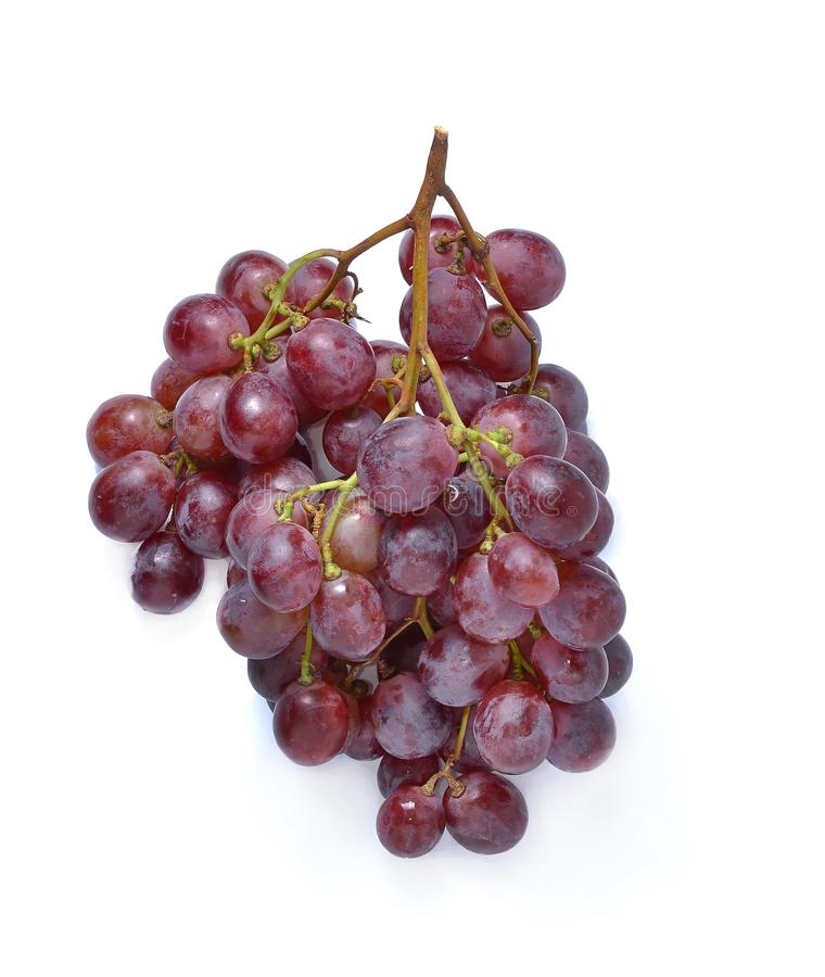 Grape Isolated On White Background stock photography