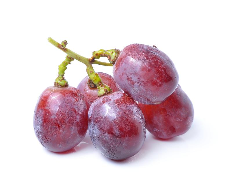 Grape Isolated On White Background stock image