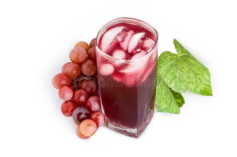 Grape Juice on White / Grape Juice / Grape Juice on Isolated White Background royalty free stock photography