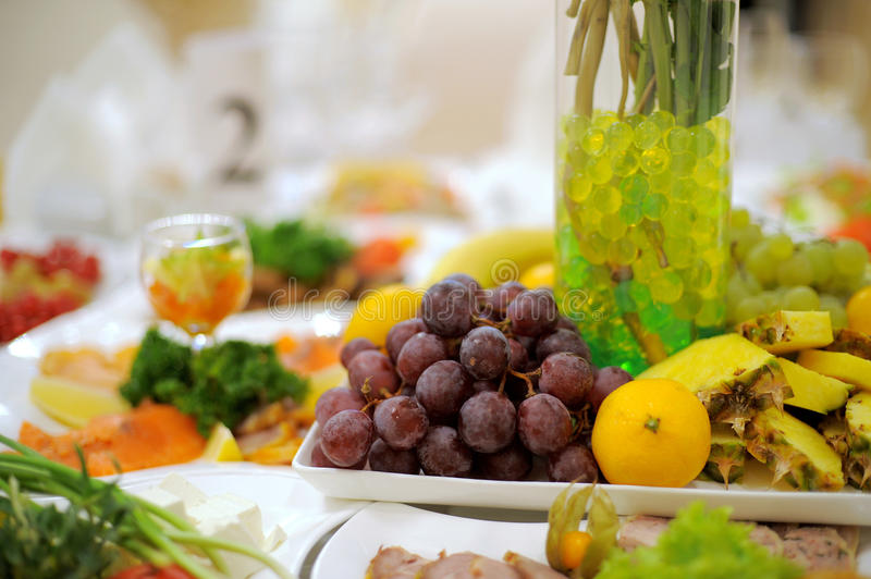 Download Grape on Plate stock image. Image of party, dinner, eating - 30597173